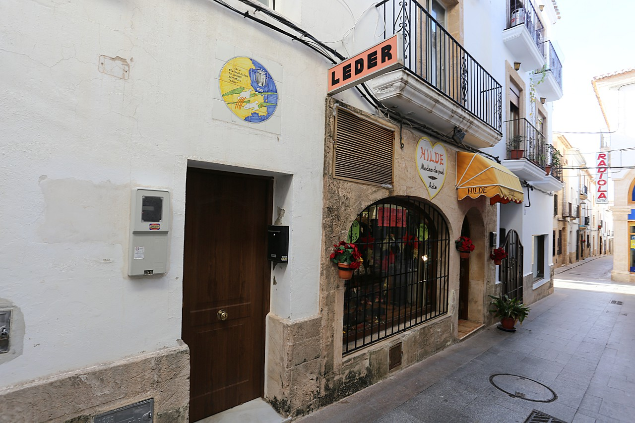 Old Town of Xàbia Streets