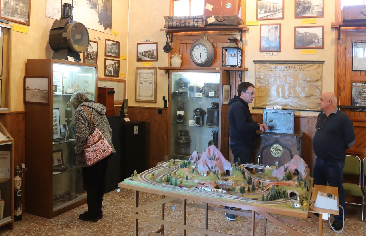 Музей железной дороги Алькой-Гандия, Альмониес