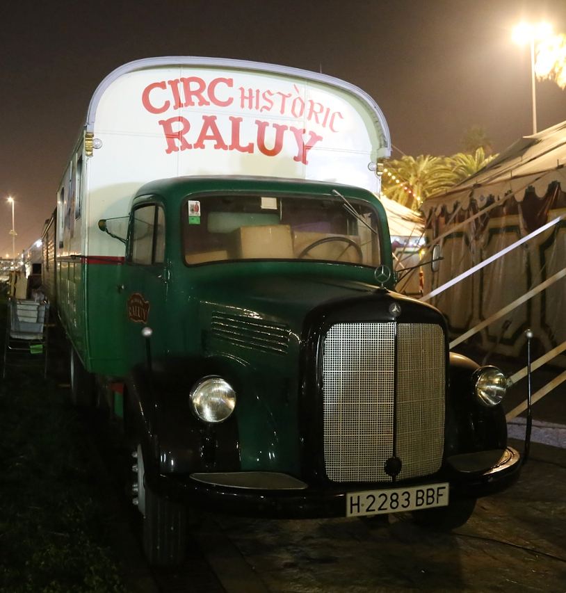 Historic circ Raluy in Port Vell, Barcelona