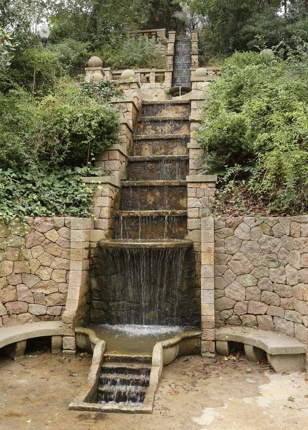 Laribal gardens (Jardins de Laribal), Barcelona