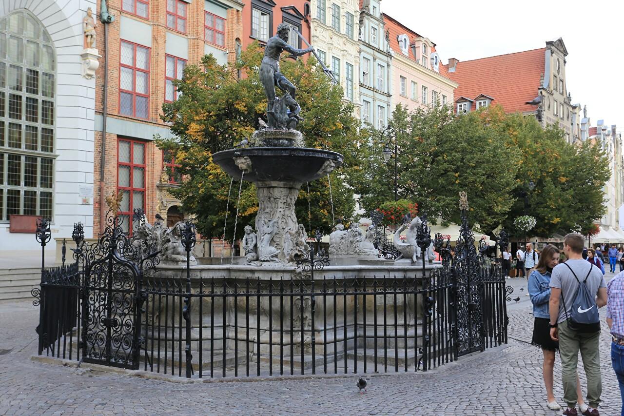 Long Market Square (Długi Targ), Gdańsk