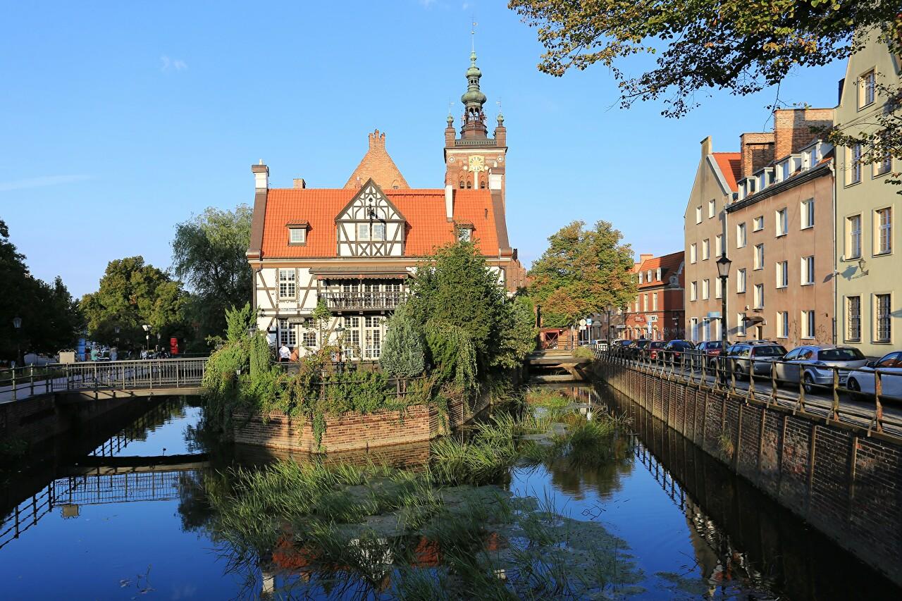 Mill Island, Gdańsk