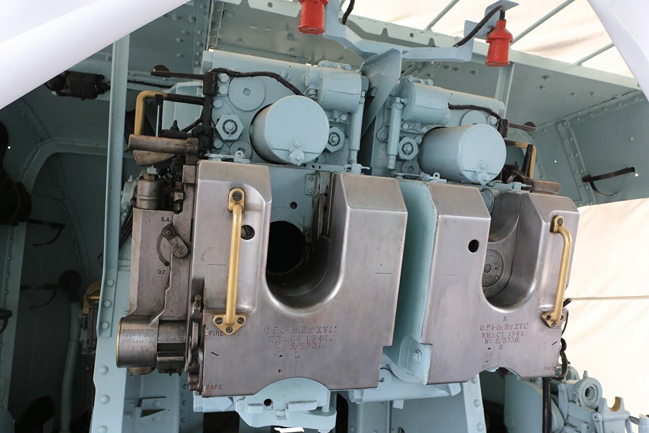 4-inch QF Mk XVI naval gun