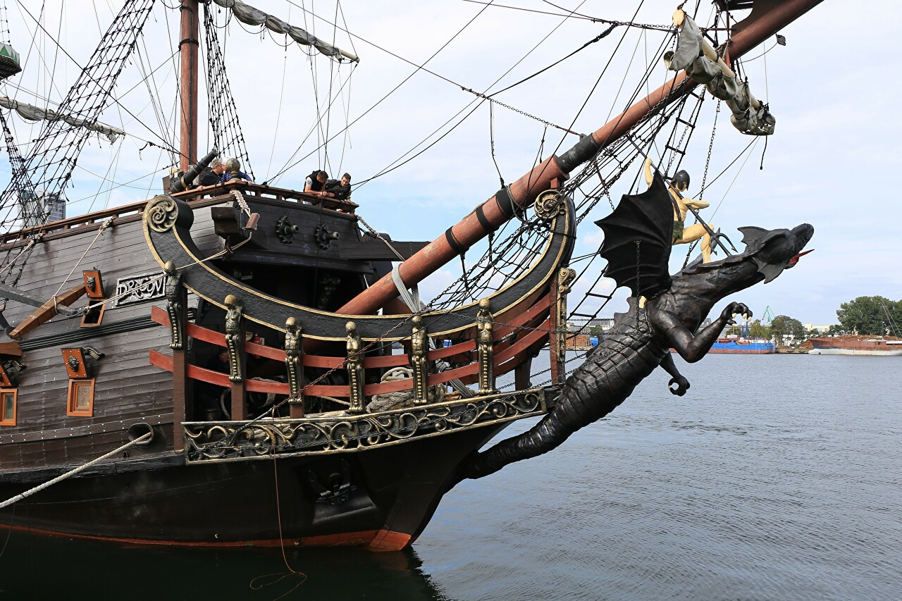 Dragon galleon, Gdynia
