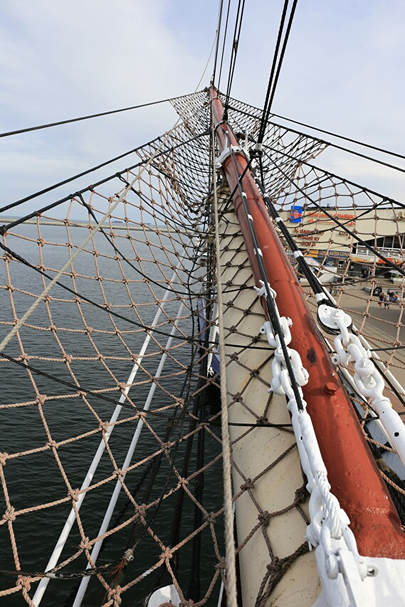Dar Pomorza, sail training ship, Gdynia