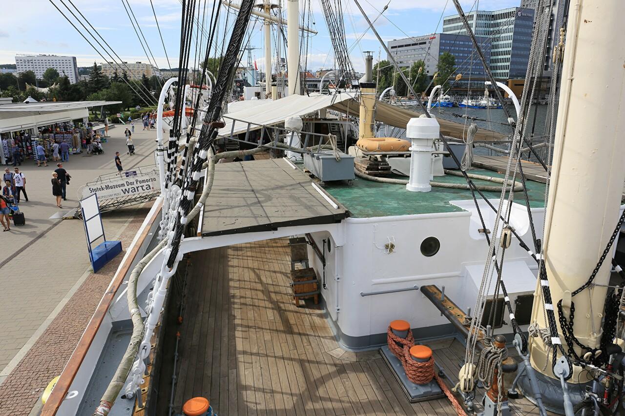 Dar Pomorza, учебный парусный корабль, Гдыня