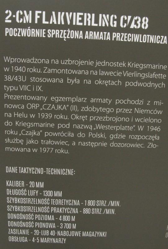 Polish Navy Museum in Gdynia (Muzeum Marynarki Wojennej)