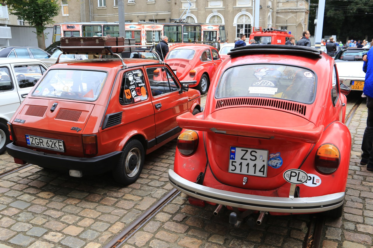 Oldtimers Exhibition in Szczecin