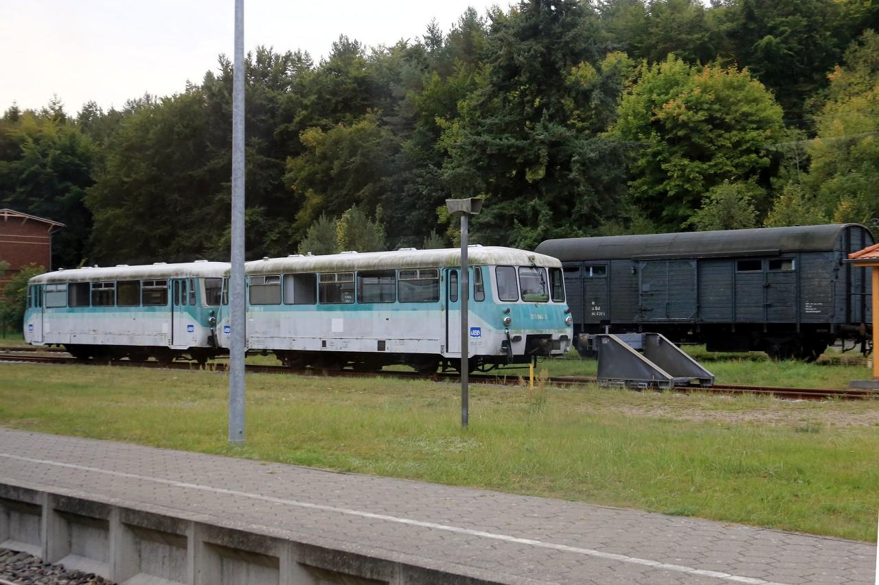 Usedom's railway (Usedomer Bäderbahn, UBB)