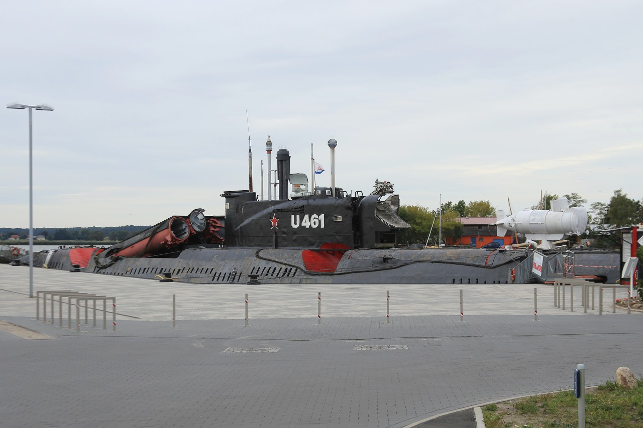 U-461 submarine, Peenemünde