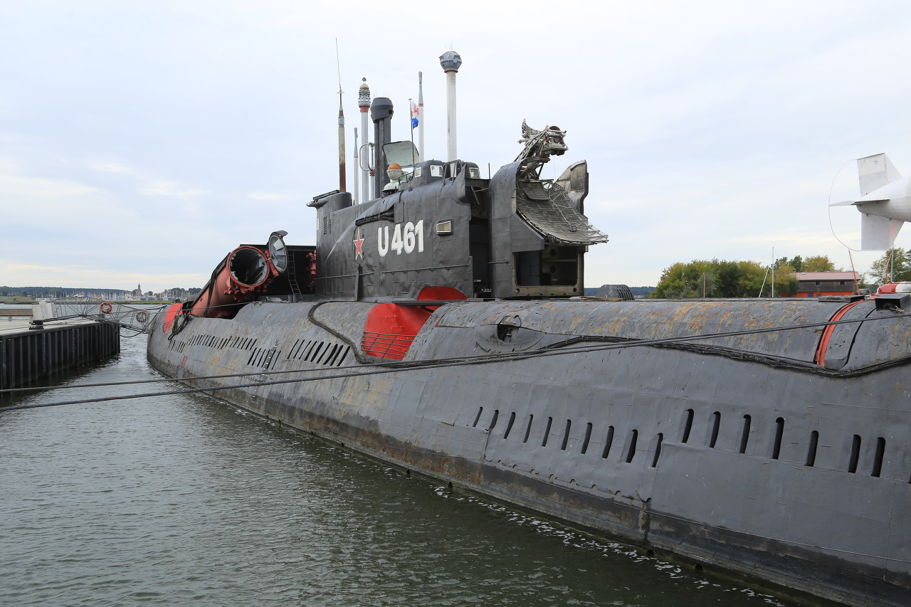Peenemünde, Juliett-class submarine (U-461)