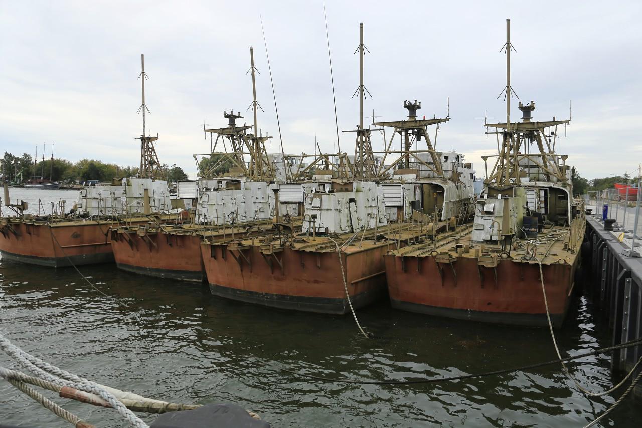 Kaparen-class (Hugin-class) boats, Peenemünde