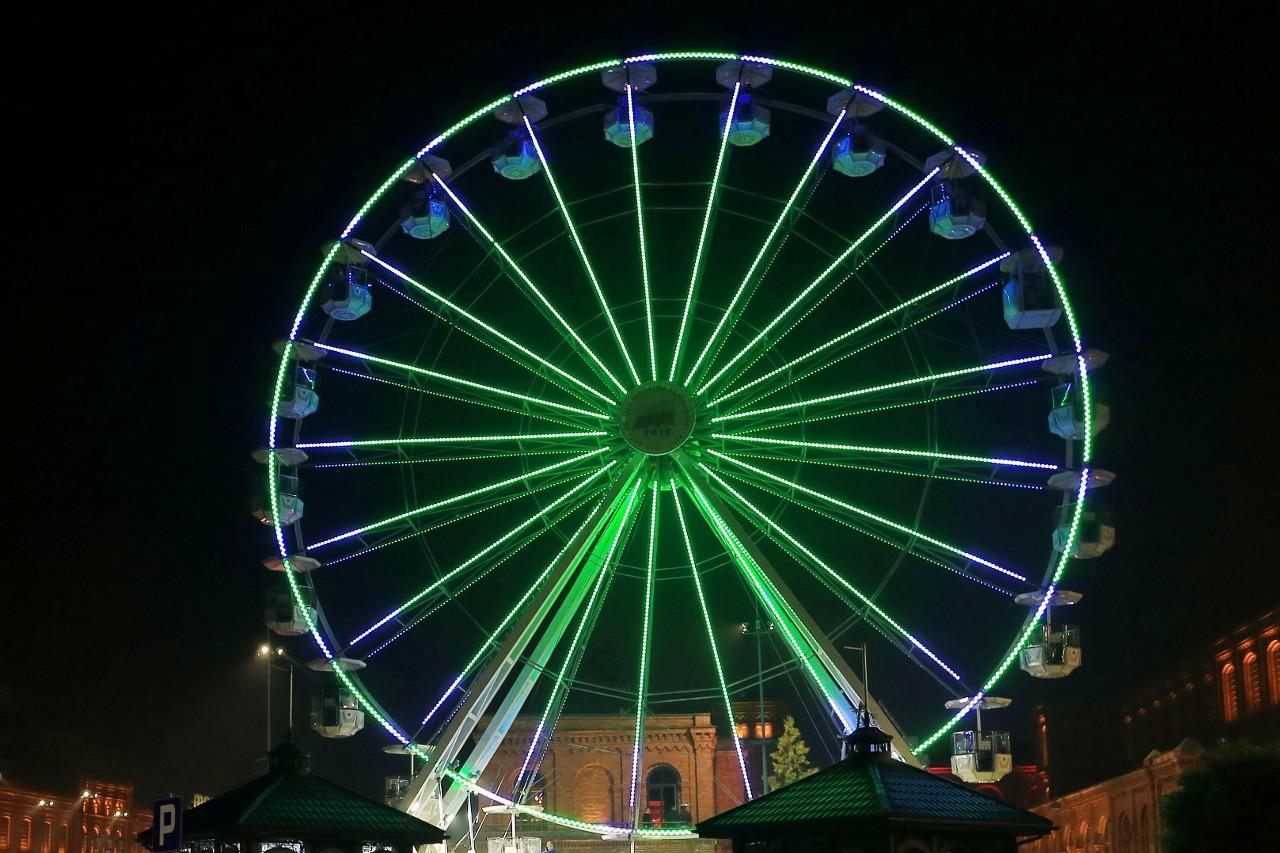 Ferris wheel, Łódź