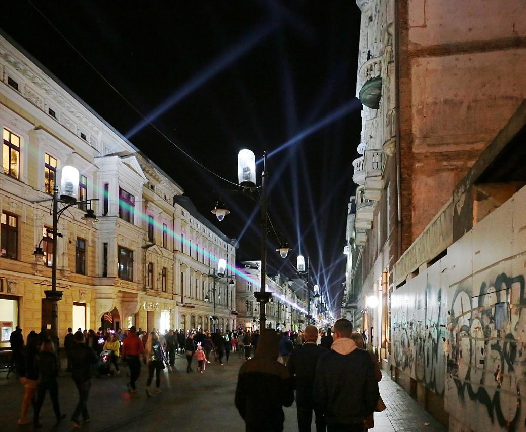 Light Move Festival in Łódź (Festiwal Światła 2018)